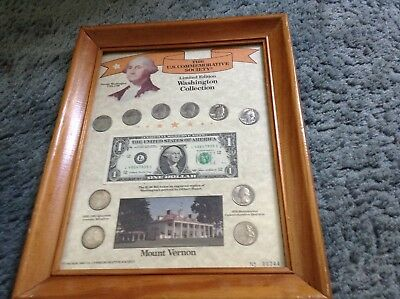 US commemorative society limited edition Washington collection coins no. 00744