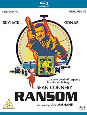 RANSOM (1974) Sean Connery Blu-Ray NEW REGION B (NOT USA COMPATIBLE)