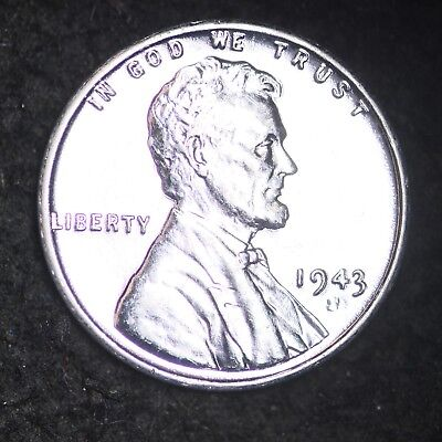1943-S Lincoln Wheat Steel Cent Penny FREE SHIPPING!