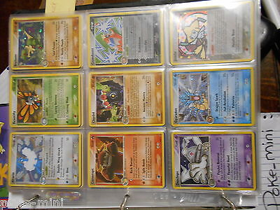 Complete Set Ex Deoxys Pokemon Cards Excluding Ex Shining Arts