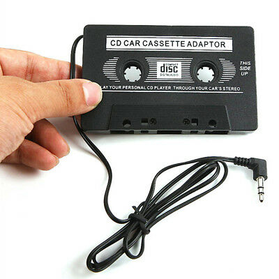 Audio Tape Cassette Adapter For iPod Mobile MP3 CD Radio 3.5mm Jack AUX Car TU