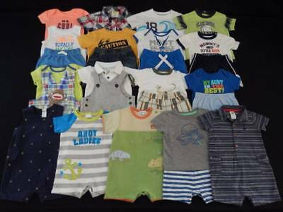Baby boy 6 6/9 9 months summer outfit clothes lot