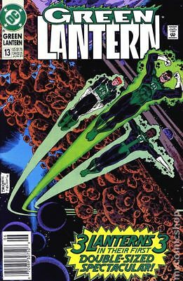 Green Lantern (2nd Series) #13 1991 VF Stock Image