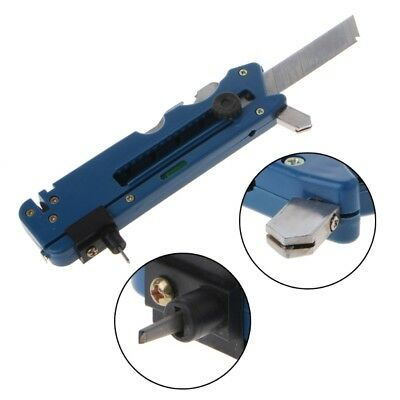 Professiona Glass Cutter Six Wheel Metal Cutting Kit Tool with Measure Ruler