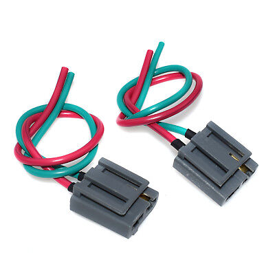 2pcs distributor pigtail wire harness set for gm hei power &tach connector  plug