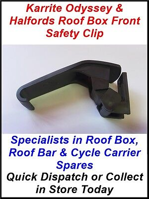 Single Securing Clip Latch For Thule Karrite Odyssey & Some Halfords Roof Boxes