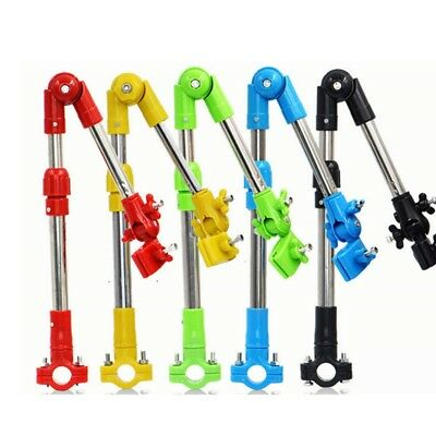 Adjustable Bike Bicycle Umbrella Holder Mount Stand - Wheelchair Stroller Chair