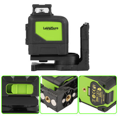 5 Line Red/Green 360 Degree Rotary Laser Level Self-Leveling Cross Measure Hot