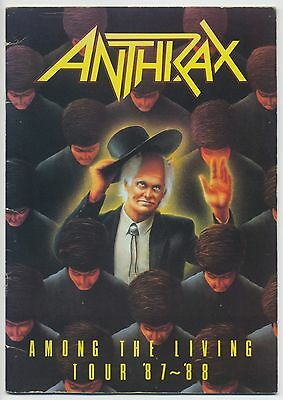 Anthrax - Among The Living Tour '87-'88 JAPAN PROGRAM February 13-18 1988