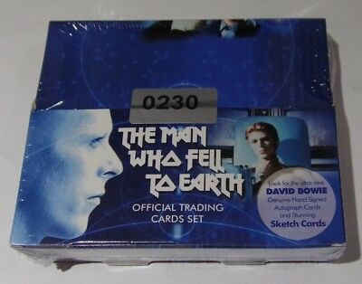 David Bowie the man who fell to earth ultra rare sealed box and official binder