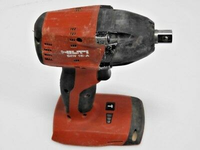 "HILTI SIW 18-A Cordless Impact Wrench 18+-voltage 1/2"" drive"