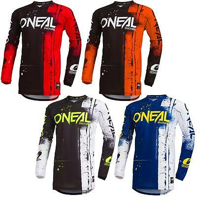 ONeal Element Shred Kinder Motocross Jersey MTB Mountain Bike Downhill Kids BMX