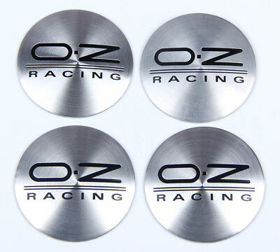 4Pcs 56mm O.Z OZ Racing Wheels Center Hub Cap Emblem Badge Alloy Decal Sticker