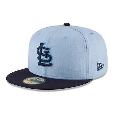 save off 622a4 45a9c St. Louis Cardinals New Era 2018 Fathers Days Dads Fitted Hat Cap 59FIFTY  NWT