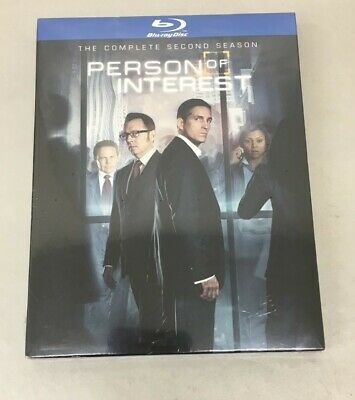 Person of Interest: The Complete Second Series (Blu-ray Disc, 2014, 4-Disc Set)