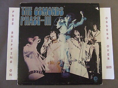 The Osmonds Phase Iii Lp W/ Donny Osmond Ise-4796