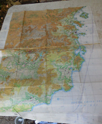 Vintage 1967 Vietnam War USAF Joint Operations Graphic ( Air ) Map