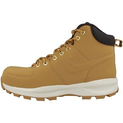 Stiefel Schuhe brown LEATHER NIKE MANOA Leder Boots haystack tsrdQxhCB