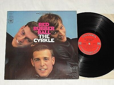 THE CYRKLE-Red Rubber Ball (1966) Stereo COLUMBIA LP