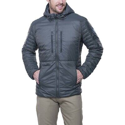 KUHL Spyfire Mens Insulated Down Hoodie - Carbon