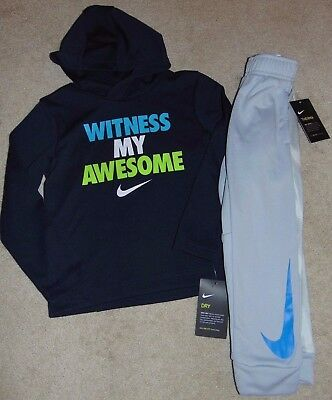 ~NWT Boys NIKE Hoodie Outfit! Size 5 Nice FS:)~