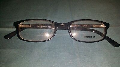 Rochester Optical Romco-5A Black Frame Spectacle Eyeglasses 50 20 150 Optometry