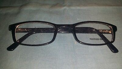 Rochester Optical Romco-5A Black Frame Spectacle Eyeglasses 50 24 145 Optometry