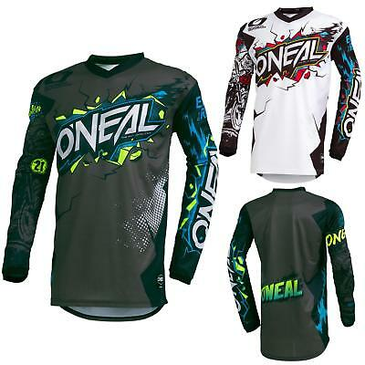 ONeal Element Villain Motocross Kinder Jersey MTB Mountain Bike Trikot Enduro