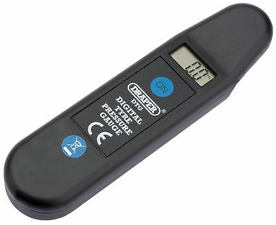 GENUINE DRAPER Digital Tyre Pressure Reader | 01071