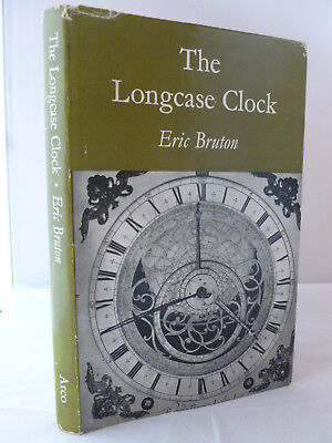 The Longcase Clock by Eric Bruton HB DJ 1964 Illustrated