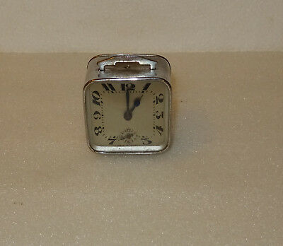 Antique Small Alarm Clock Bayard . By Lowering The Handle The Ringtone S'arrête