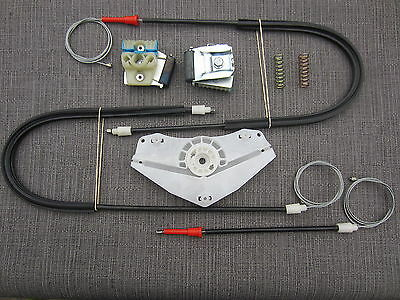 Vw Golf Mkv 2/3 Doors Window Regulator Repair Kit +Metal Clips Front Left *New*