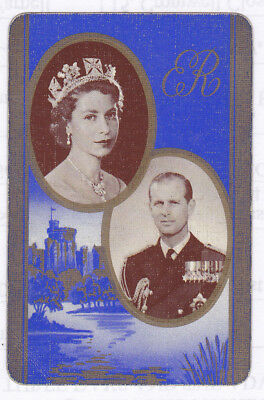 1953 Queen Elizabeth 11 Coronation,Royalty Single playing cards