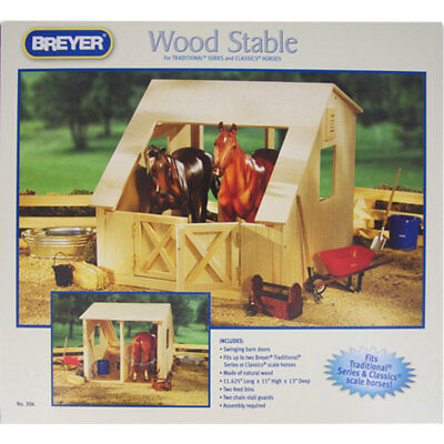 306 Breyer Wood Stable - Horse Stable NEW