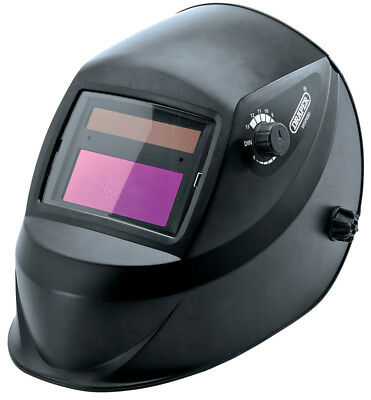 Genuine DRAPER Solar Powered Auto-Varioshade Welding Helmet | 12034