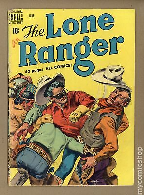 Lone Ranger (Dell) #24 1950 GD+ 2.5