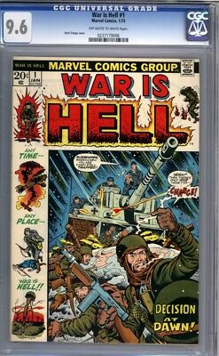 War is Hell #1  Rare 1973 Marvel Comic  Herb Trimpe Cover  1st Print    CGC 9.6