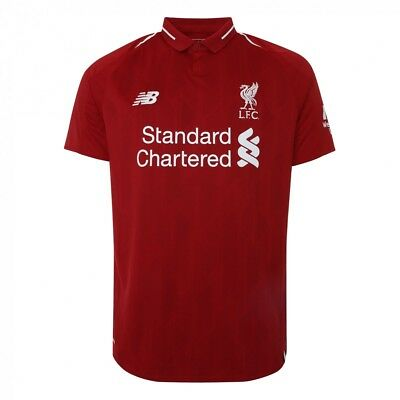 Liverpool Home Shirt 2018/19 (FIRMINO 9,MANE 10,M.SALAH 11 In Stock)