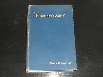 EGYPT SUDAN WAR - WITH KITCHENER'S ARMY - By Owen Watkins - 1900 Book