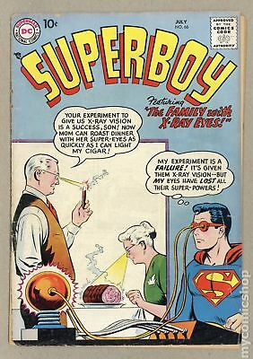 Superboy (1st Series DC) #66 1958 FR/GD 1.5