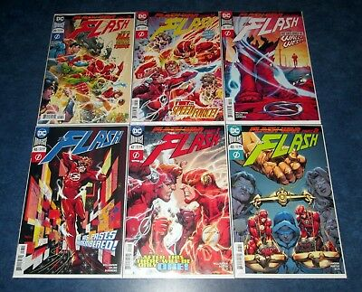 FLASH #46 #47 #48 #49 #50 51 1st print SET DC COMIC 2018 1st print flash war NM