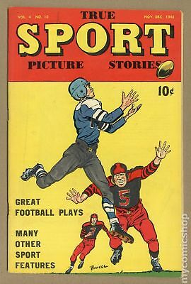 True Sport Picture Stories Vol. 4 #10 1948 VG- 3.5
