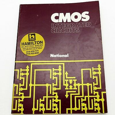 NATIONAL SEMICONDUCTOR Vintage 1974 CMOS INTEGRATED CIRCUITS DATA BOOK 74C IC's