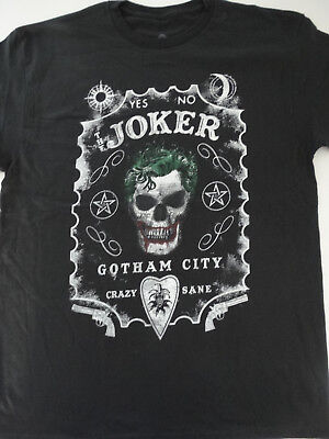 dd13b15fc21c8 BATMAN JOKER OUIJA Board Crazy Dc Comics Superhero Heroes Black T ...