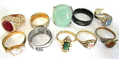 Great Lot of Vintage Costume Rings