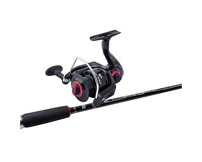 Abu Garcia 6 ft 2-5kg Muscle Tip 3 Fishing Rod & Reel Combo-6' Rod/MTS 2000 Reel