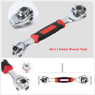 Portable Car Stainless Steel Wrench Tool Socket Works With Spline Bolt Torx 360°