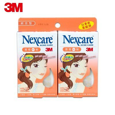 3M Nexcare Acne Clear Cover CARE DRESSING PIMPLE STICKERS PATCH 72PCS