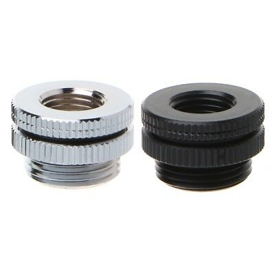 G1/4 Threaded Wear Plate Bulkhead Fitting Top Injection Connector Water Cooling