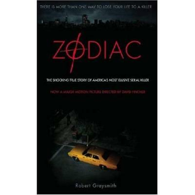 Zodiac: The Shocking True Story of America's Most Elusi - Paperback NEW Graysmit